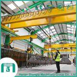 강철 공장을%s 큰 수용량 두 배 대들보 천장 기중기