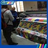 Le roulis industriel à grande vitesse de Garros pour rouler 3D dirigent le coton/machine en soie/en nylon d'impression de tissus de tissu pour différents genres de tissu