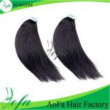 Extensión brasileña de calidad superior del pelo humano del pelo recto de la extremidad