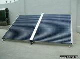 2016 nuevo tipo colector solar a presión de cristal del tubo de calor del tubo de vacío del metal