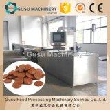 Pastilles de chocolat de fonte facile de casse-croûte ISO9001 petites déposant la machine