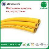 Mangueira de alta pressão do PVC com o injetor de pulverizador forte da mangueira do bocal da mangueira