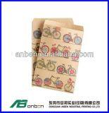 熱い販売のハンドルが付いているカスタム明白で安いブラウンの紙袋