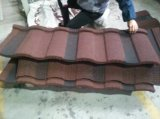 Tôle d'acier en pierre ondulée colorée d'enduit