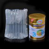 Прозрачные 10 мешков воздушной колонны колонок пластичных для молока напудренного 900g