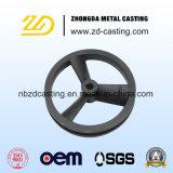CNCの機械化を用いるねずみ鋳鉄の鋳造を砂型で作っているOEM