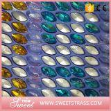 Cristallo di vetro operato con la regolazione del metallo