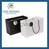 La bolsa de papel caliente modificada para requisitos particulares de la venta lleva la impresión de la bolsa de papel (DM-GPBB-102)