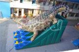 الصين مضحكة قابل للنفخ ماء جافّ منزلق تمساح منزلق قابل للنفخ ([شسل290])