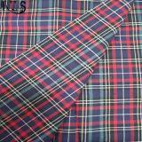 El hilado tejido del popelín de algodón teñió la tela para las camisas/alineada Rlsc32-3 Rls32-3po de la ropa