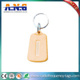Modificado para requisitos particulares siguiendo RFID sin contacto plástico Keyfob con varias dimensiones de una variable