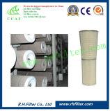 Elemento filtrante para la turbina de gas