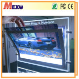 Acrylic di cristallo Advertizing Magnetic LED Light Box con Logo