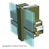 Perfis invisíveis de alumínio da parede de cortina da alta qualidade