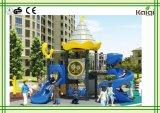 Kaiqiのグループのコミュニティおよび公園のための小型城の運動場