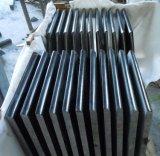 Granito della galassia di buona qualità di vendita, lastre del granito o mattonelle nere Polished calde
