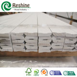 Bordage en bois amorcé blanc de Baseboard