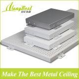Panel de techo curvo de aluminio decorativo