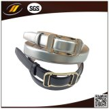 Cinghia di cuoio personalizzata della pelle bovina di alta qualità con l'inarcamento dell'oro