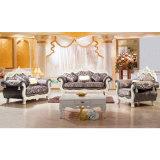 Ledernes Sofa für hölzerne Hauptmöbel (929U)