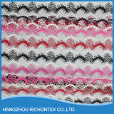 Multi tela bonita colorida do laço da guipura (M15032)