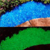 Small d'ardore Stones Glow in Dark Stones per il giardino Decoration
