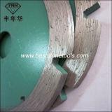 El diamante de la punta de la imagen doble por la lámina Tk-1 vio las láminas 5m m para el corte de la ranura