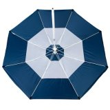 Parapluie de plage de protection UV d'UV-Dresseur grand 7 pi