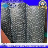 Покрынный PVC и гальванизировал шестиугольное плетение провода, сетку цыпленка