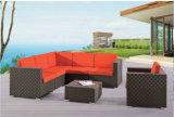 Sofá ao ar livre do Rattan da mobília do lazer