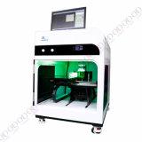 Presentes da máquina de gravura de madeira do laser da qualidade 3D do ouro