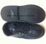 Штоки кожаный ботинок дешевой черноты детей вскользь (FF525-1)