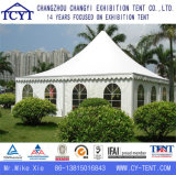 Tente extérieure en aluminium de pagoda de Gazebo de mur en verre de famille de loisirs