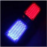 Bianco automatico chiaro Emergency di colore giallo di colore rosso blu della lampada istantaneo della polizia dell'indicatore luminoso LED dello stroboscopio della visiera universale dell'automobile 12V 86 LED