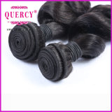 100% de cabelo humano High Quality Indian Loose Wave Hair Extensão