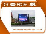Schermo grandangolare esterno di alta luminosità LED di P6.25 HD