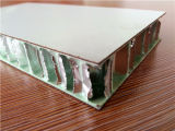 Color blanc HPL Honeycomb Panels pour Fire Proofing