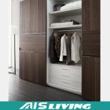 Armário do Wardrobe da melamina da mobília do quarto (AIS-W013)