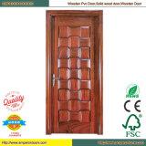 Pièce en bois de porte de la plus basse de porte porte en bois en bois de peinture