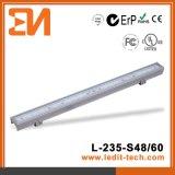 線形管CE/UL/RoHS (L-235-S48-RGB)をつけるLED