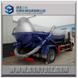 Dongfeng 4X2 12000L Vacuum Suction Sewage Truck Hohes-Pressure Sewer Flushing Vehicle