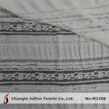 Tela elástica de encaje de encaje de algodón (M3208)