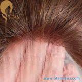 Parti naturali dei capelli umani del Virgin del tessuto per le donne