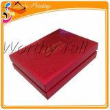 ハンドメイドの贅沢な金ホイルの押されたウェディングドレス包装ボックスカスタム安いボール紙のギフト用の箱