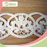Correção de programa elegante do bordado do teste padrão de flor do engranzamento do estilo