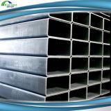 Prix galvanisé par grand dos galvanisé carré de pipe en acier d'acier en forme de tuyau d'ERW