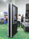 Visualizzazione di comitato esterna dell'affissione a cristalli liquidi del contrassegno di 55 di pollice Digitahi della doppia degli schermi di pubblicità esterna Digital visualizzazione del riproduttore video
