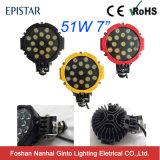 Alto indicatore luminoso fuori strada del lavoro di durevolezza IP67 51W 6inch LED (GT1015-51W)