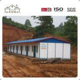 Sola casa de la casa prefabricada de Hangzhou de la hoja de acero de la varia más nueva venta caliente