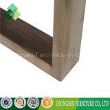 거실 가구 강철 프레임 나무로 되는 탁자 디자인